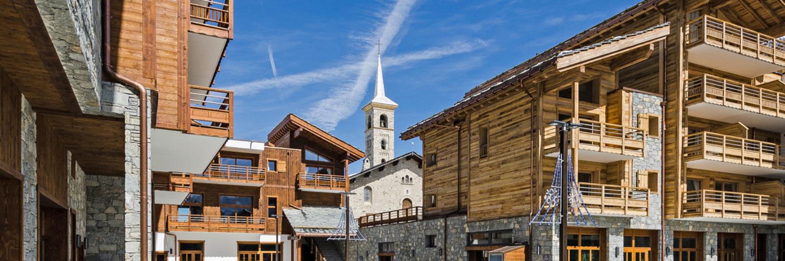 Station de ski pour famille, groupes d'amis, sportifs